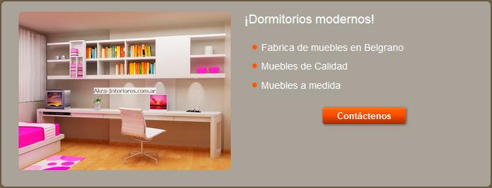 Habitaciones actuales - Muebles juveniles modernos ...