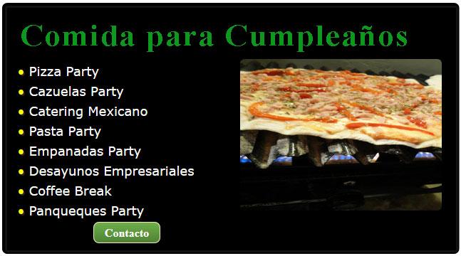 comidas especiales para cumpleaños, comida para un cumpleaños, cumpleaños divertido, comidas cumpleaños, menu para cumpleaños de 15, catering para cumpleaños zona norte, cumpleaños a domicilio adultos