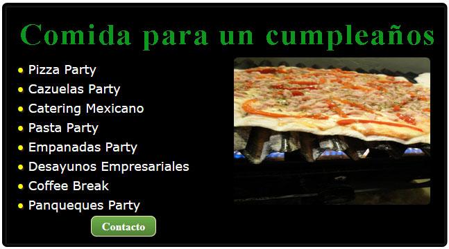 comida de cumpleaños, cumpleaños mexicano, eventos cumpleaños, catering para cumpleaños adultos, que servir en un cumpleaños, comidas cumpleaños adultos, pizza para cumpleaños, festejo de cumpleaños original,