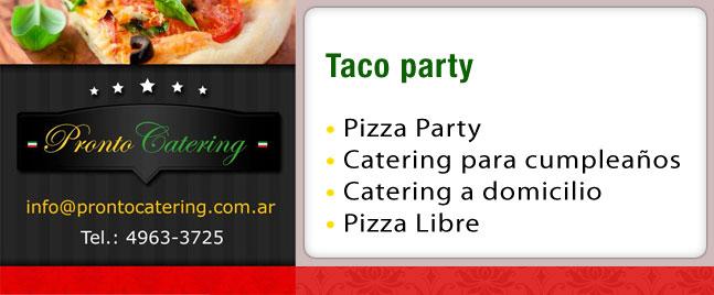 comidas mexicanas tacos, tacos para eventos, taco party, salsa criolla para tacos, servicio de tacos para eventos, comida mexicana zona oeste, comida de la zona sur,